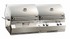 Fire Magic Dual hood Gas and Charcoal grill A830i-8LAN-CB