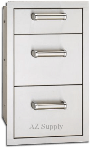 Fire Magic Premium 3 drawer unit flush mount 53803SC