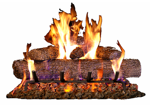 Fyreside Live Oak Vented Gas Log Kit 24 inch 64YEP Propane