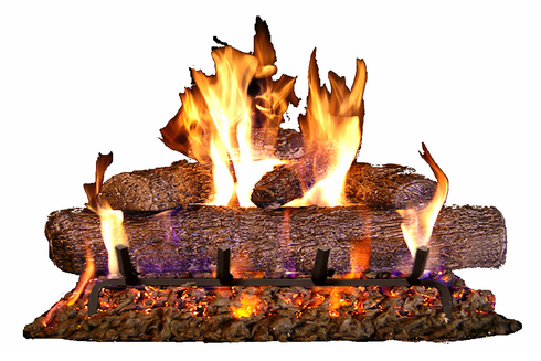 "Fyreside 30"" Live Oak Vented Propane Log Kit with burner 63YEP"