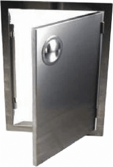 Islands Access Door 20X14 S/S Vertical