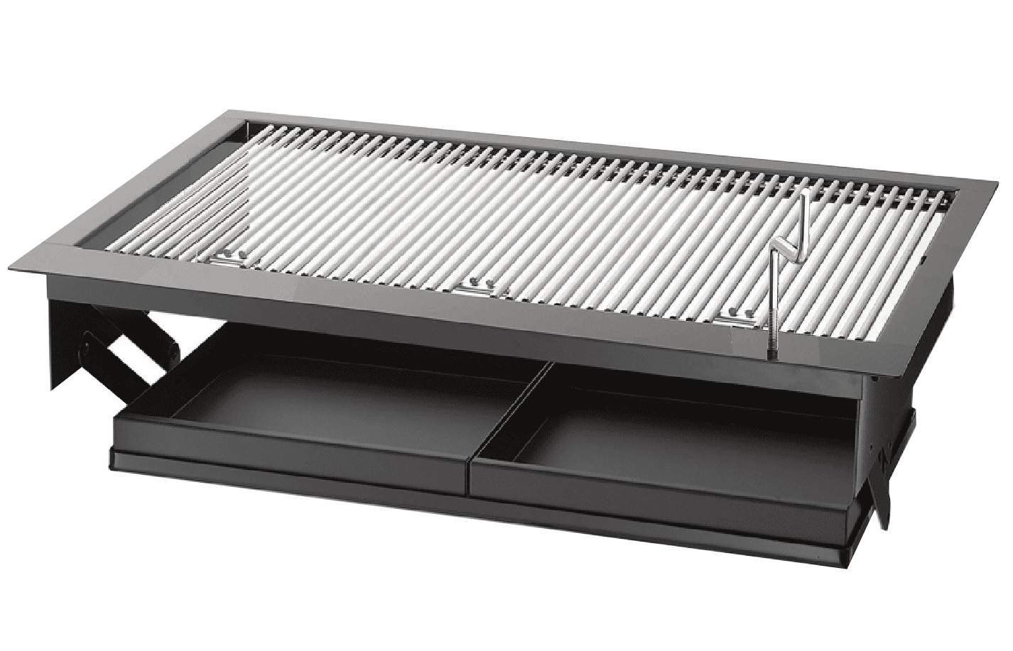 KW5000 - Built in charcoal grill  18 X 30 Drop-in