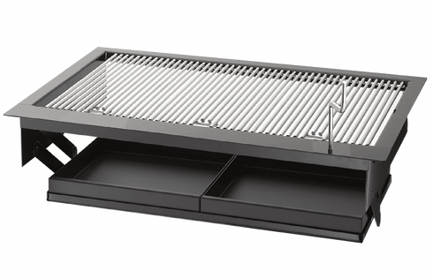 KW5010 - Charcoal Built in grill 16 X 23 Drop-in