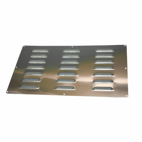 """Large Stainless Steel Vent 10"""" X 18"""""""