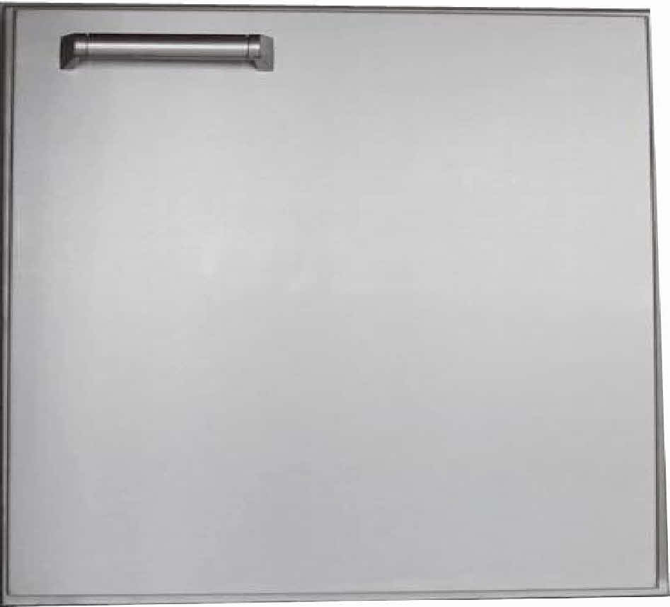 "PCM 21"" BBQ island Access Door 300H series Stainless Steel"
