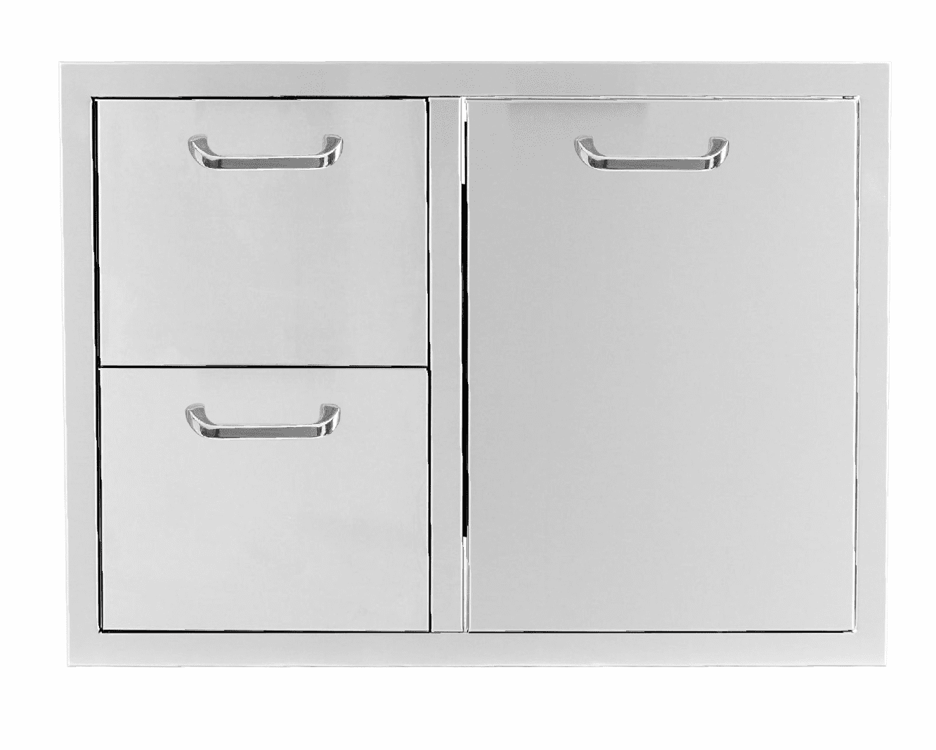 """PCM 260 Combo with 2 drawer and 1 Propane drawer 32"""""""