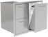 PCM 260 Series BBQ Unit - 39 Inch Triple Drawer & Propane Rollout on Right