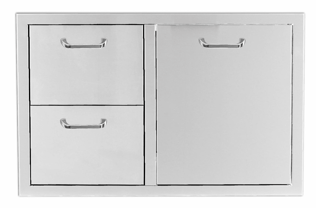 """PCM 260 combo with 2 Drawer and 1 Propane Drawer 39"""""""