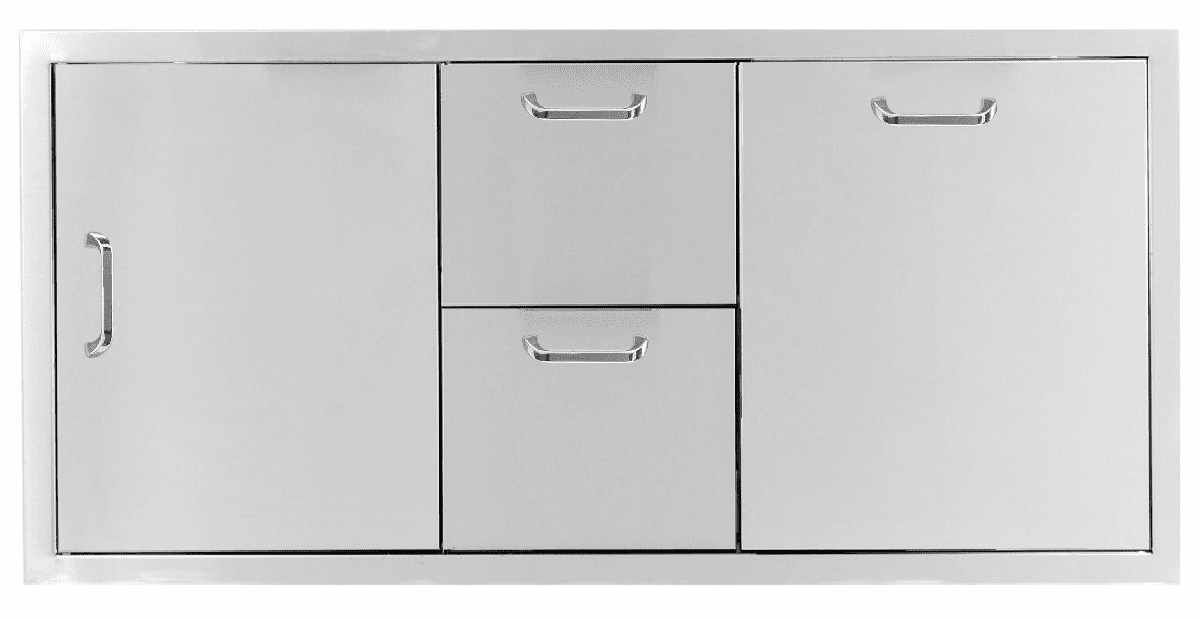 """PCM 260 Combo with 2 Drawer and 1 Propane Drawer 42"""""""