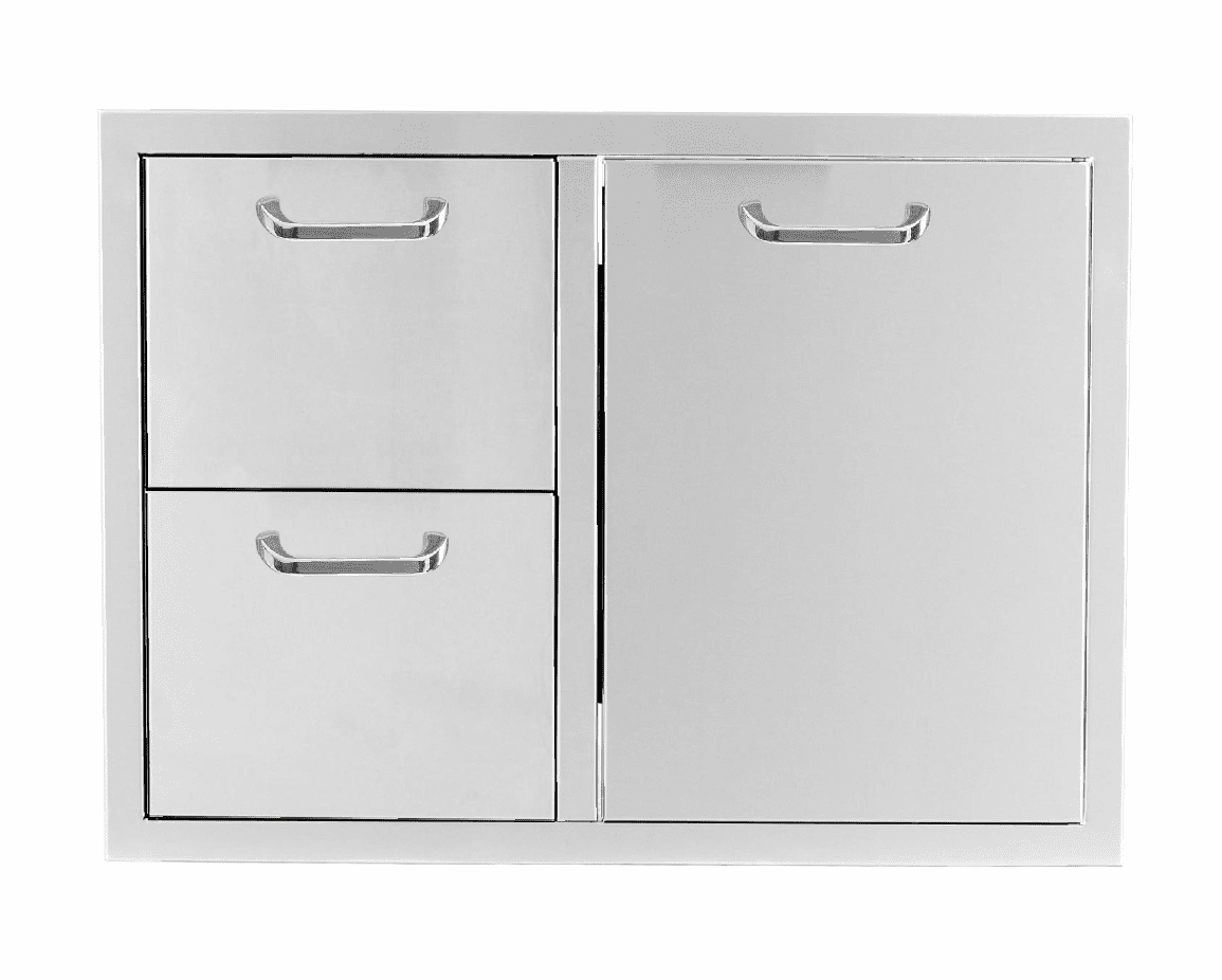 """PCM 260 Combo with 2 drawer and 1 Trash Drawer 32"""""""