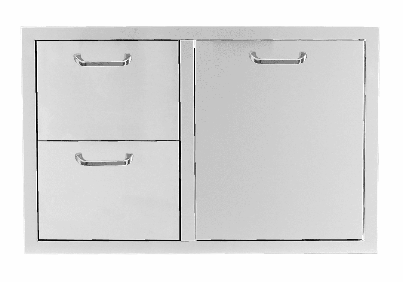 """PCM 260 combo with 2 Drawer and 1 Trash Drawer 39"""""""