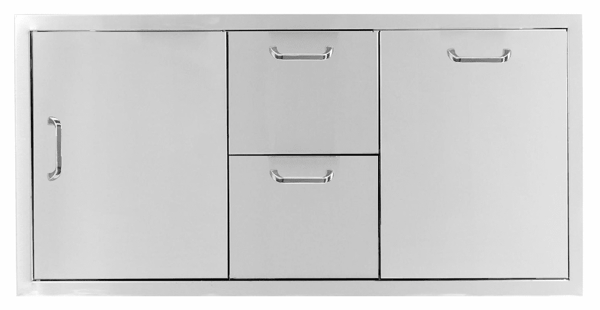 """PCM 260 Combo with 2 Drawer and 1 trash Drawer 42"""""""