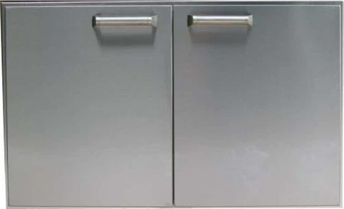 "PCM 27"" BBQ island Double Access Door 300H series Stainless Steel"