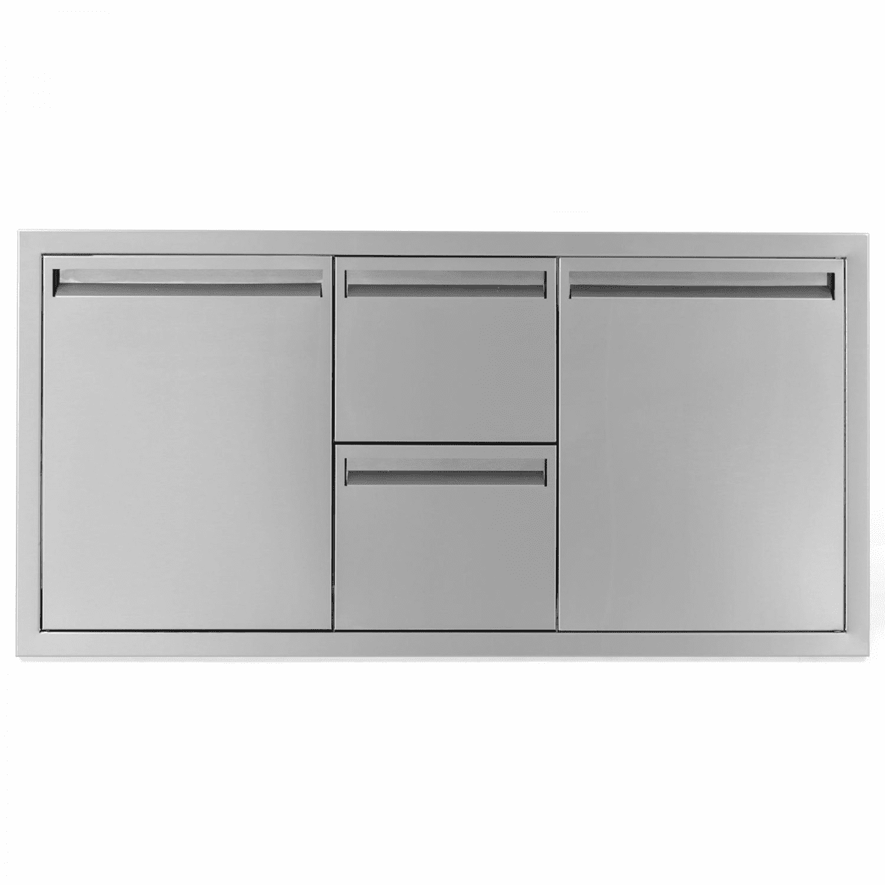PCM 301 Series 1 Door 2 Drawer 1 trash-propane drawer 42 inch Combo