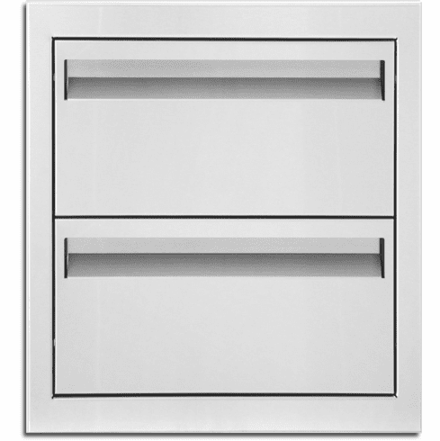 PCM 301 Series 2 Drawer Tall Stainless Steel