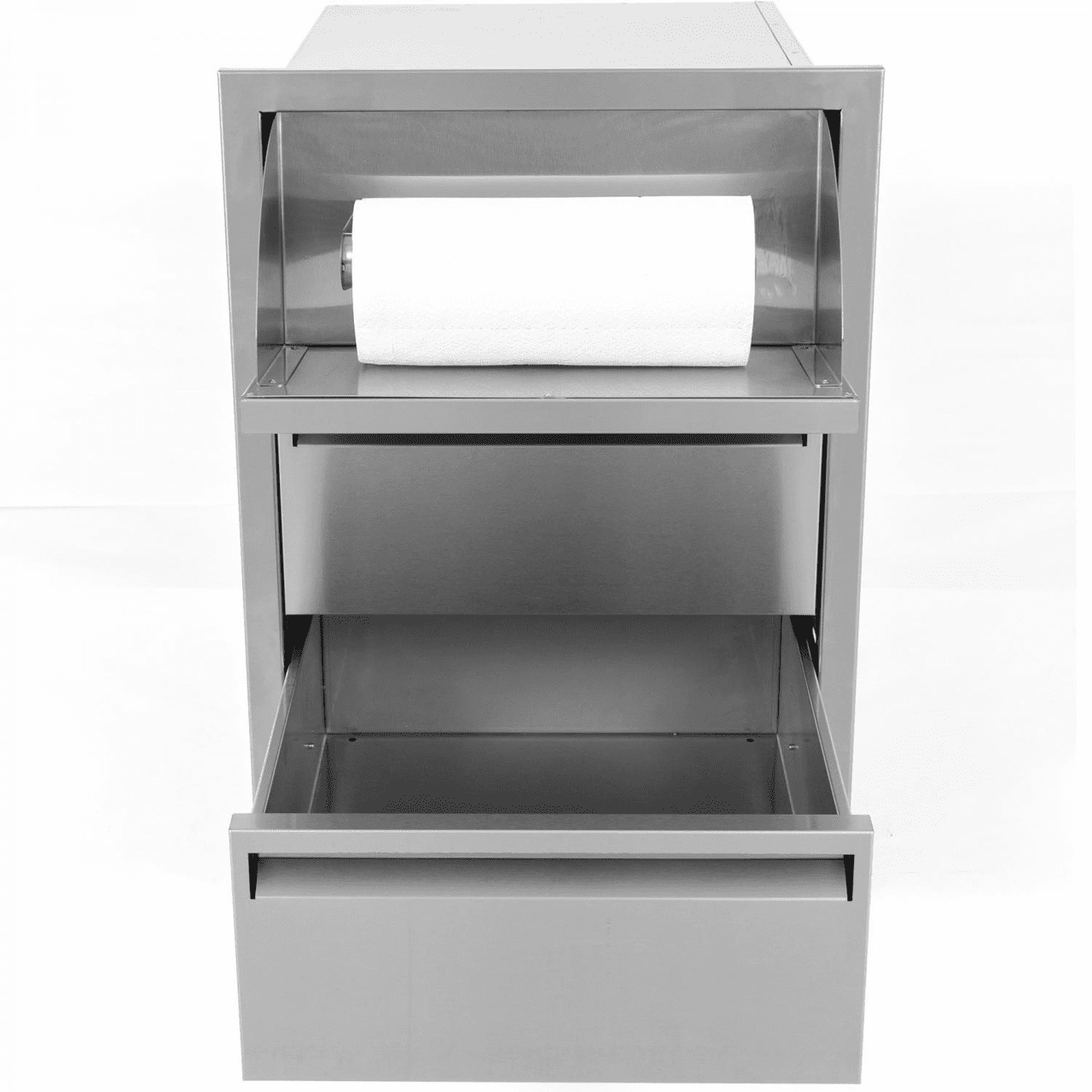 PCM 301 Series 2 Drawer With Paper Towel holder Stainless