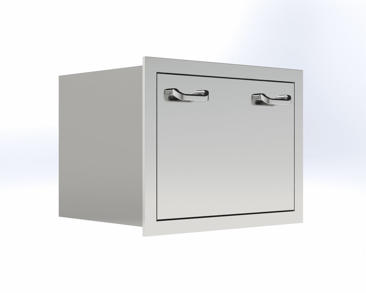 PCM 301Series Ice Chest Drawer Stainless Steel PCM-350-ICD