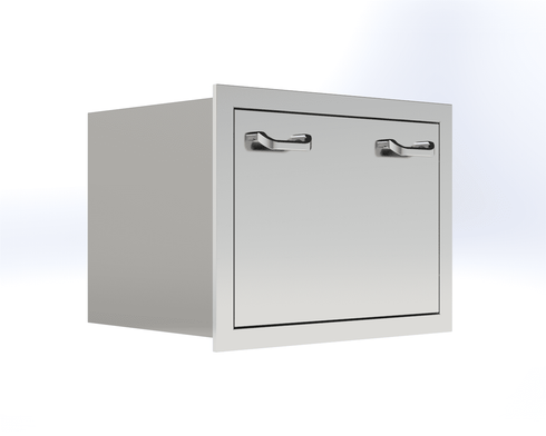 PCM 260 Series Ice Chest Drawer Stainless Steel PCM-350-FID