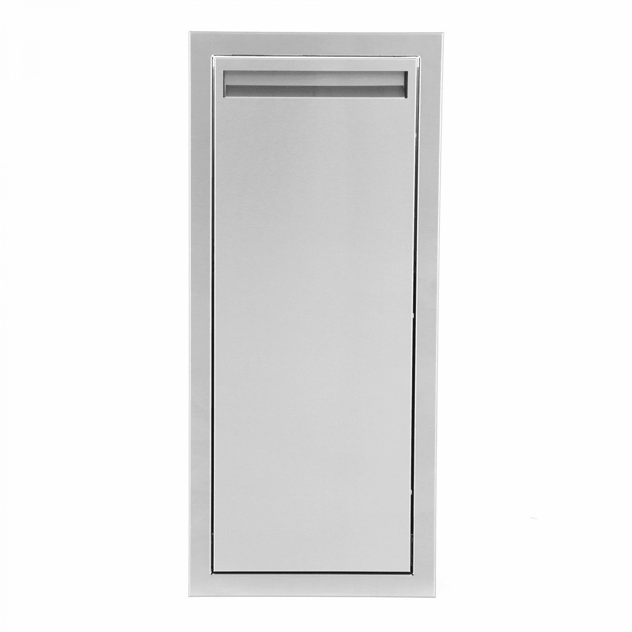 PCM 301 Series Trash Drawer Narrow Stainless Steel