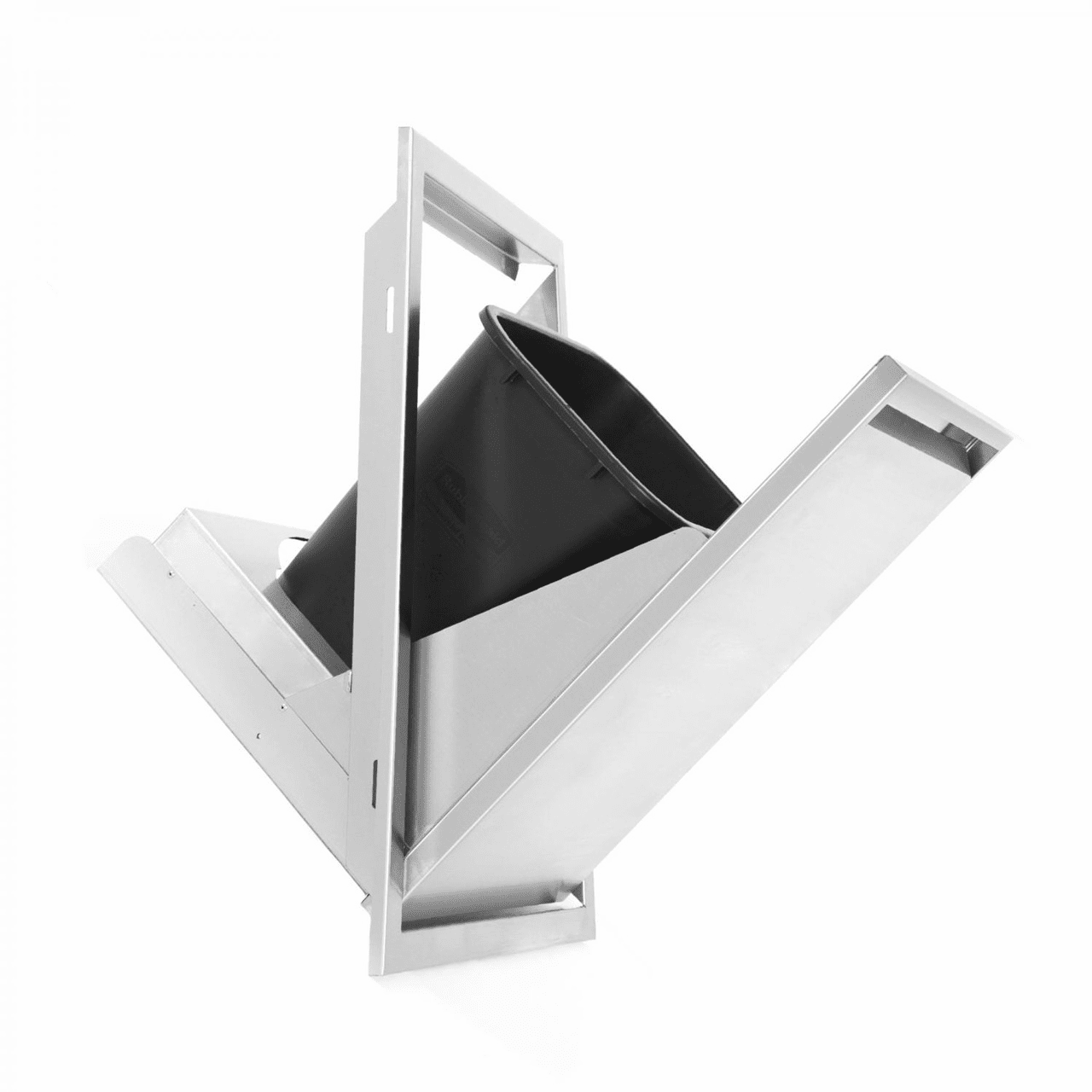 PCM 301 Series Trash Tilt out Stainless Steel