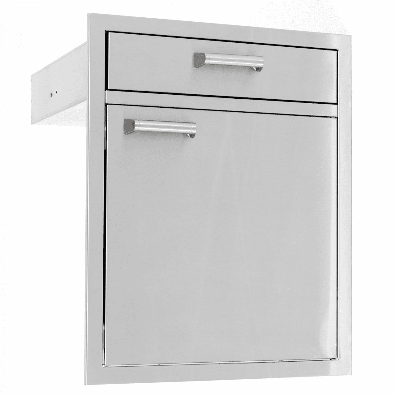 PCM 350H 1 Door 1 Drawer Combo SDHDR21 stainless steel