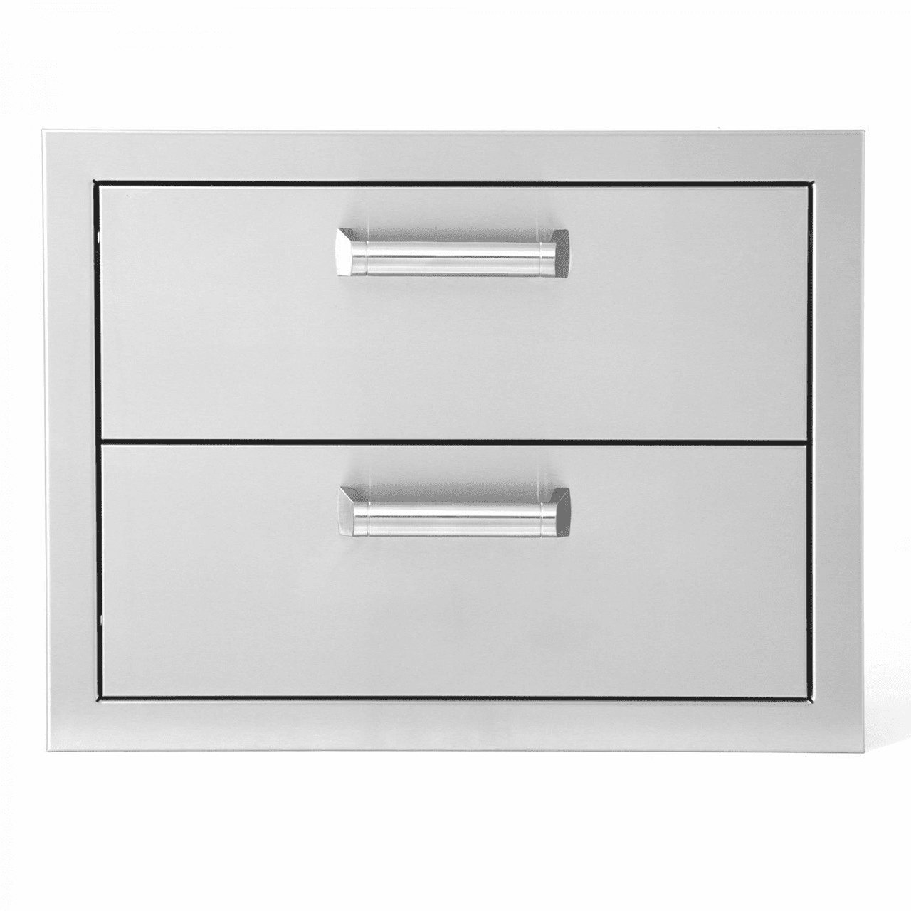 """PCM 301H 2 Drawer 2DR Stainless Steel 17"""" X 12.5"""""""