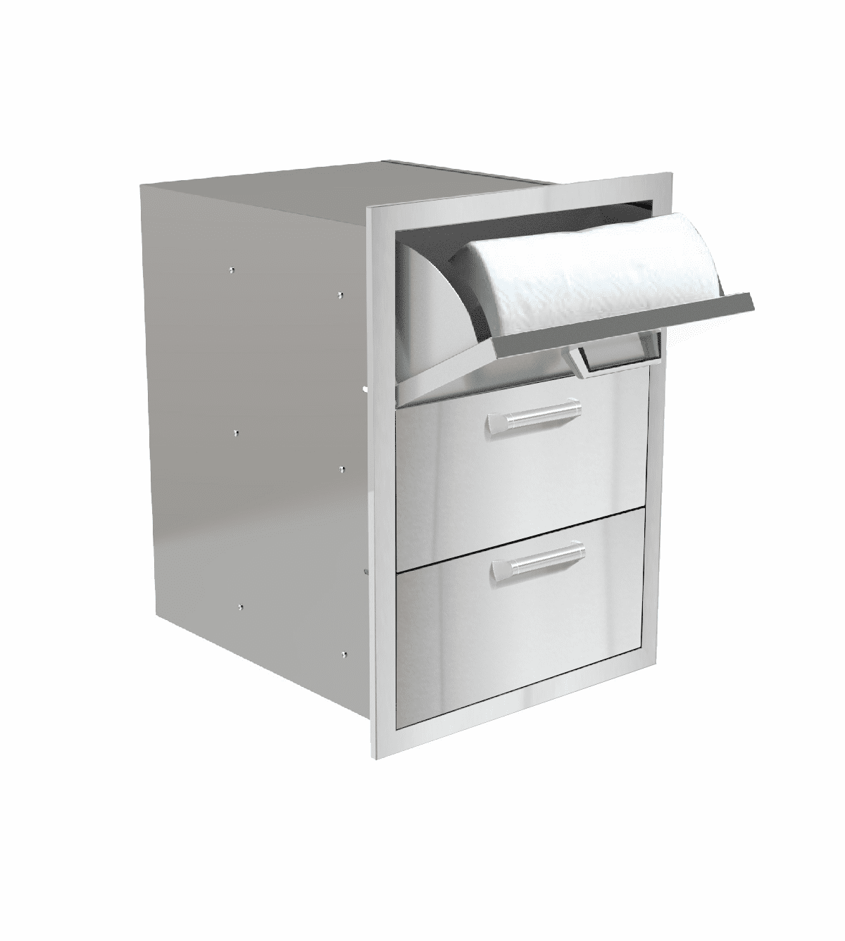PCM 350H Series BBQ Drawer - 16 Inch 3-Drawer with Paper Towel Drawer