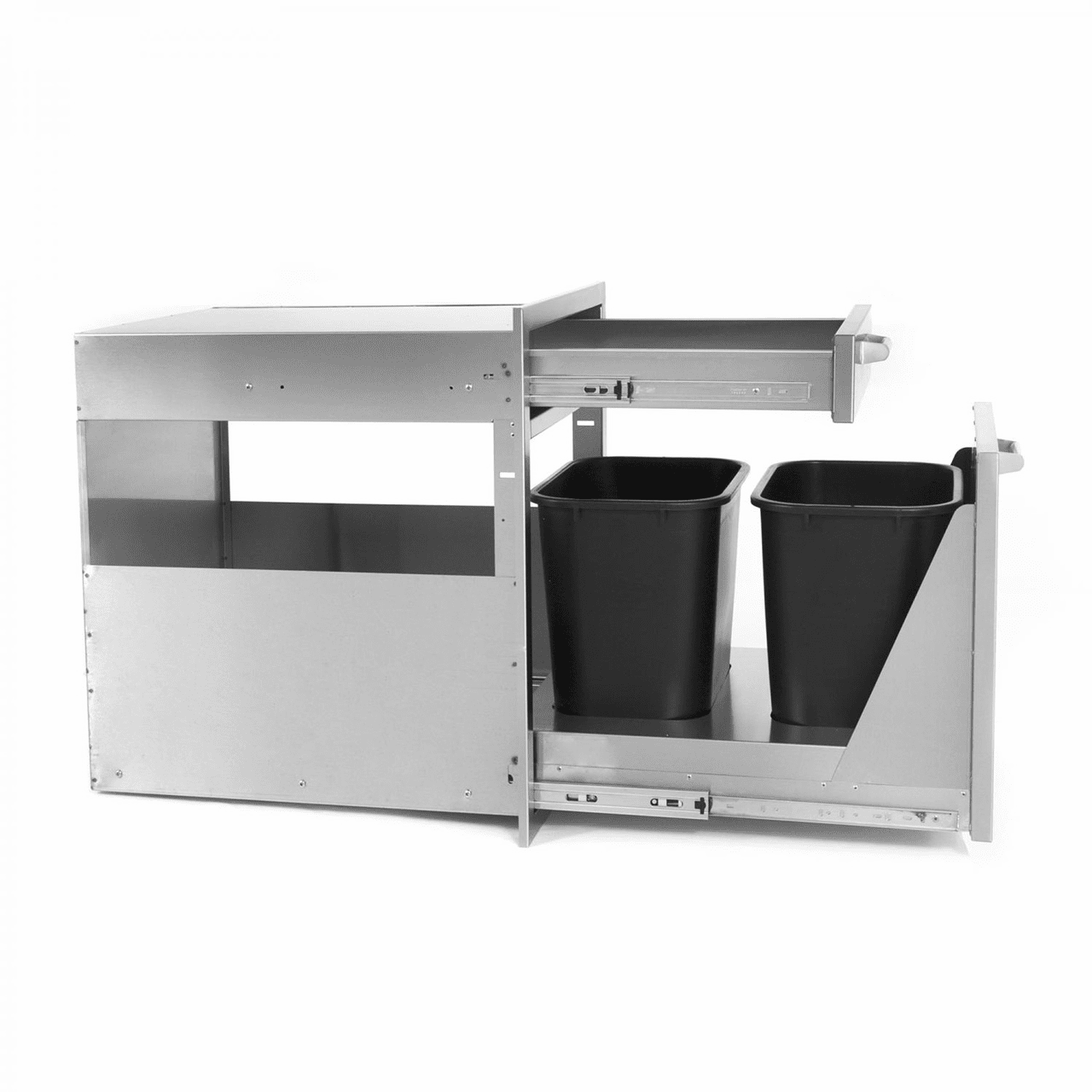 PCM 350H Series Trash - recycle Drawer Combo PCM-350H-TR-HDR21
