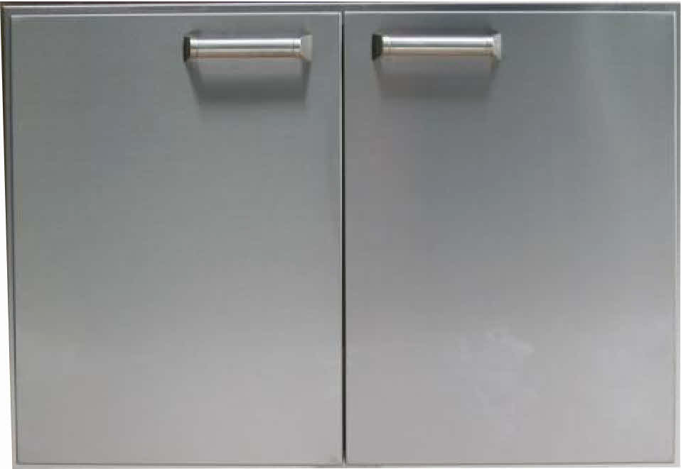 "PCM 36"" BBQ island Double Access Door 300H series Stainless Steel"