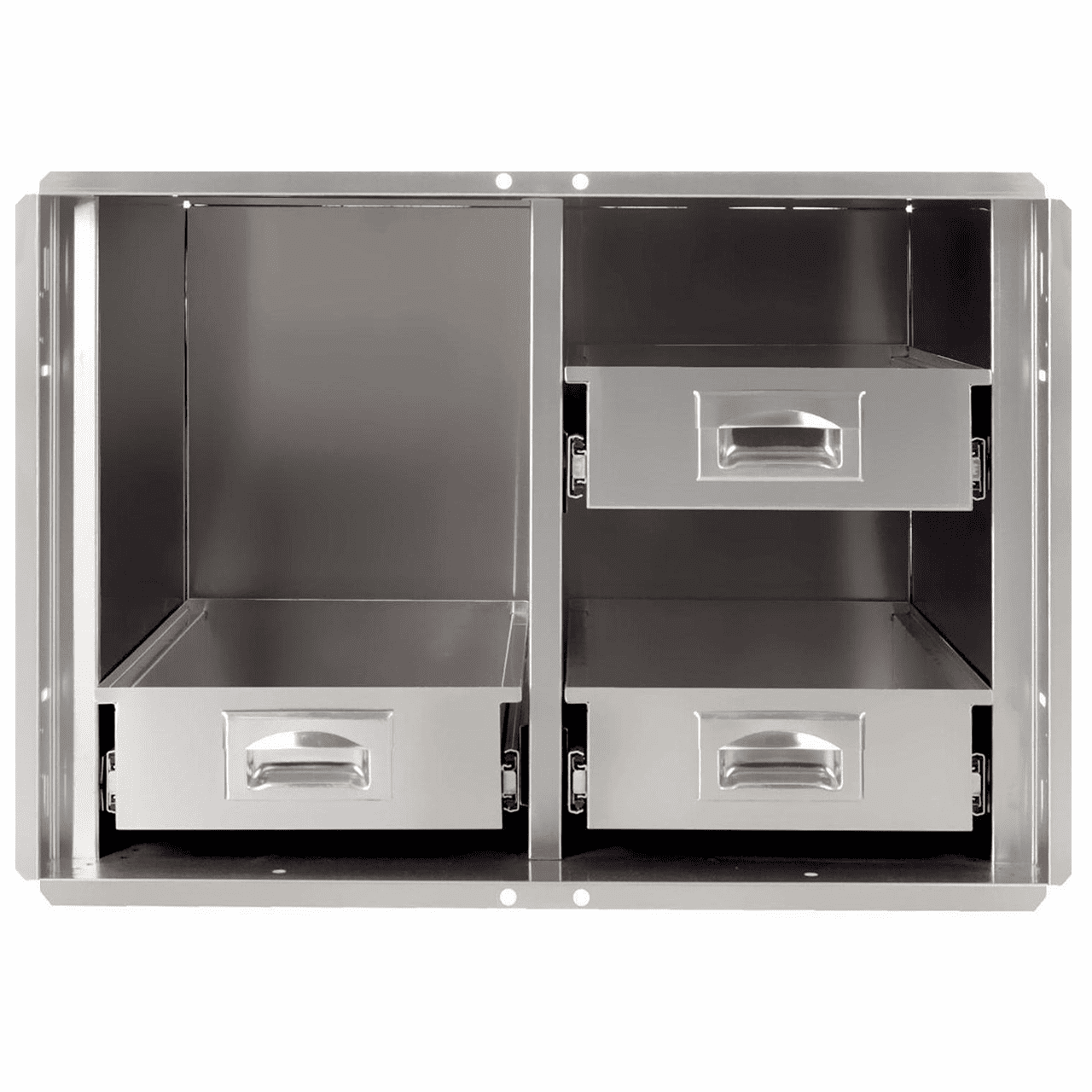 "PCM 400 Series BBQ Island pantry inserts 30"" stainless steel 1/ea"