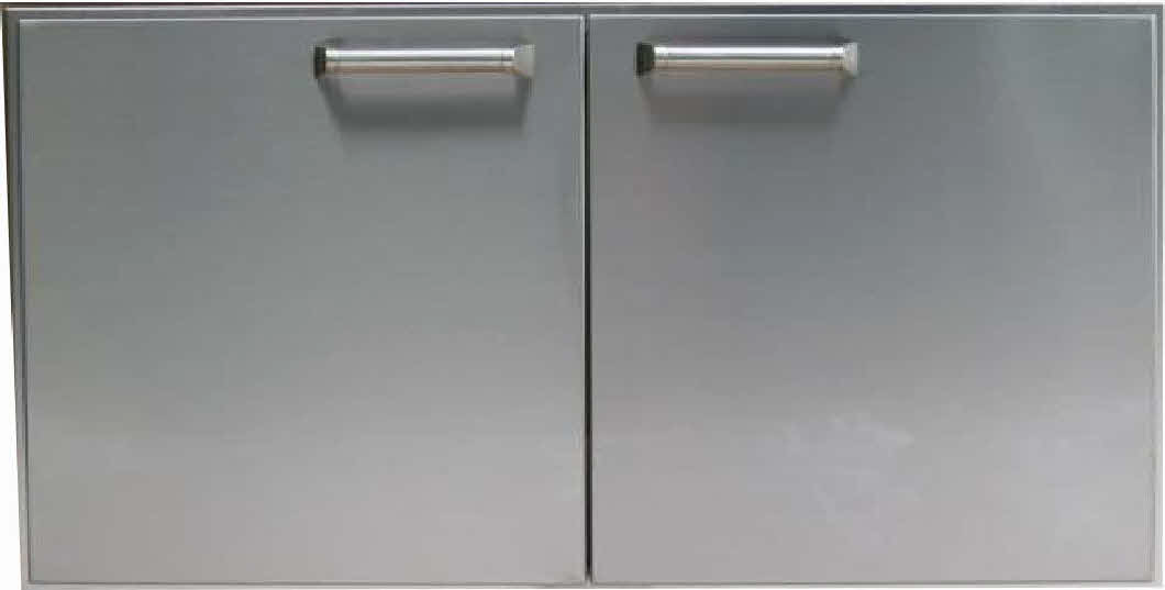 "PCM 42"" BBQ island Double Access Door 300H series Stainless Steel"