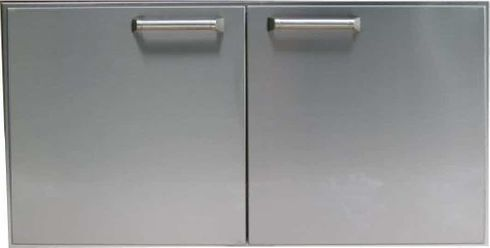 """PCM 42"""" BBQ island Double Access Door 300H series Stainless Steel"""