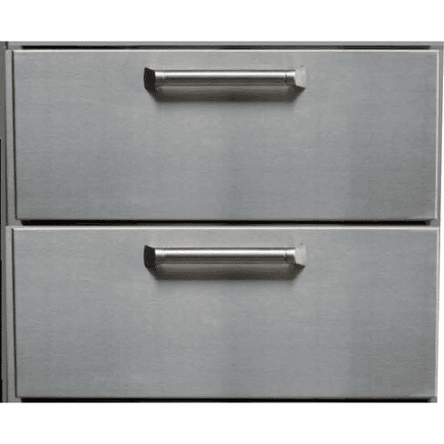 PCM  BBQ island 2 Drawer 300H series Stainless Steel