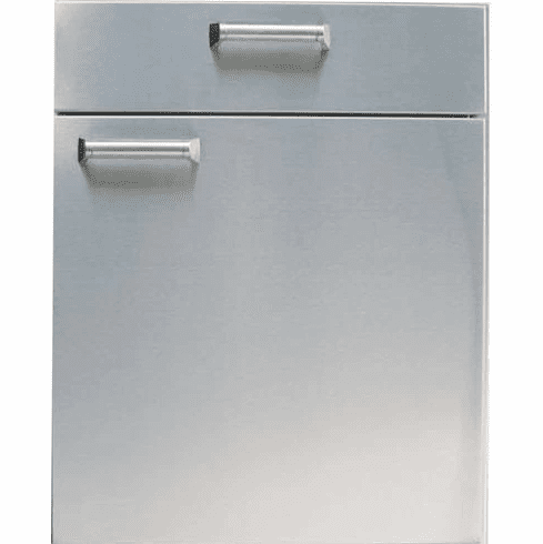 """PCM BBQ island 21"""" under counter combo unit 300H series Stainless"""