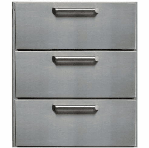 PCM  BBQ island 3 Drawer 300H series Stainless Steel