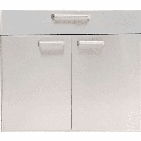 """PCM BBQ island 30"""" under counter Drawer door combo unit 300H series"""