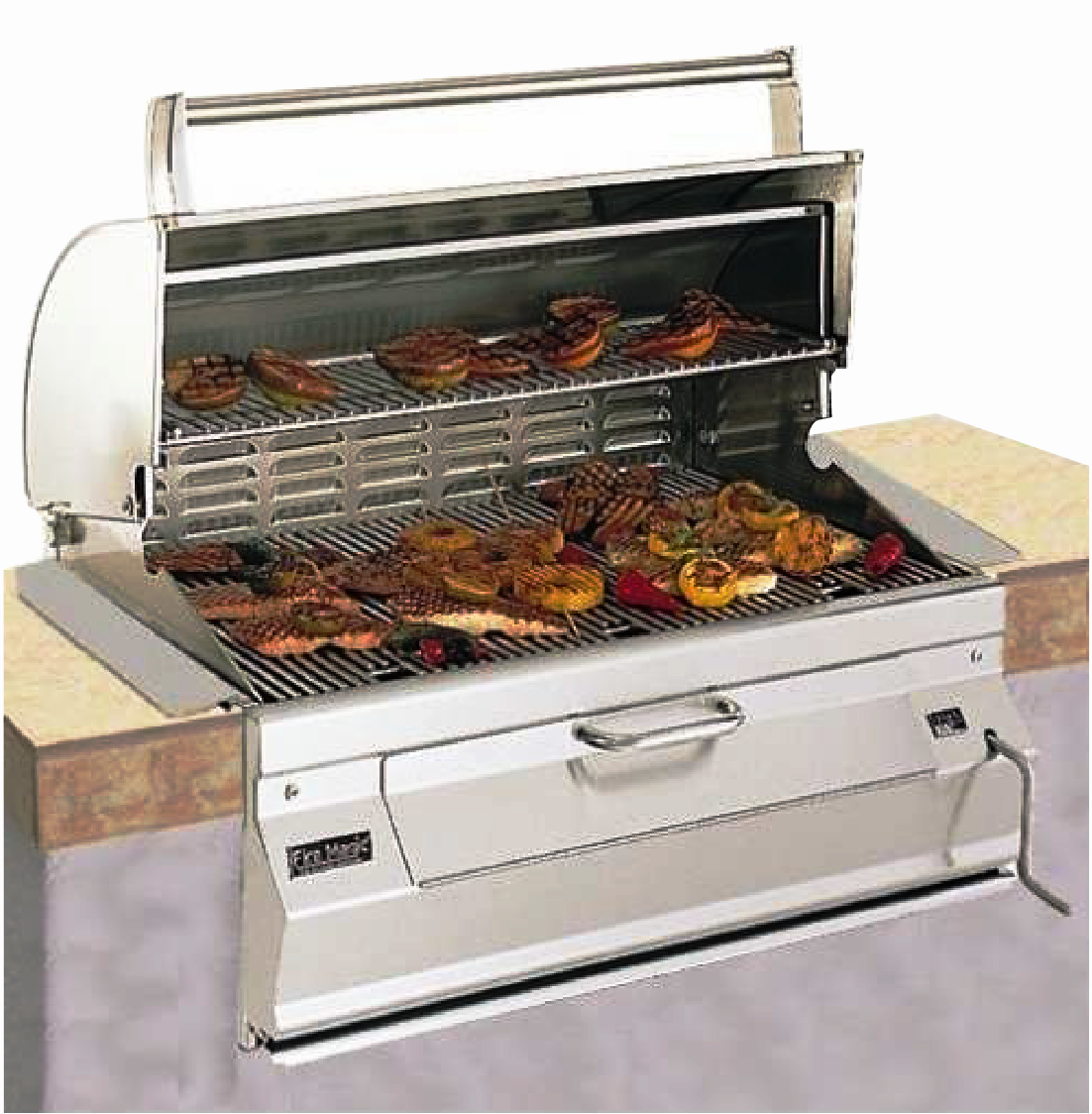Stainless built in grill 14-S101C-A