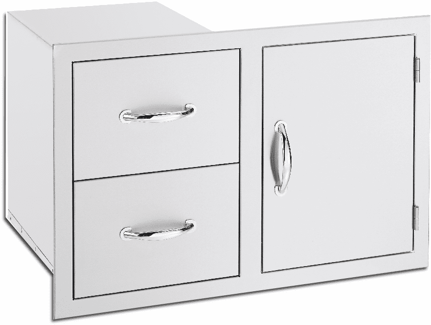 Summerset 1 Door 2 drawer combo SSDC-1