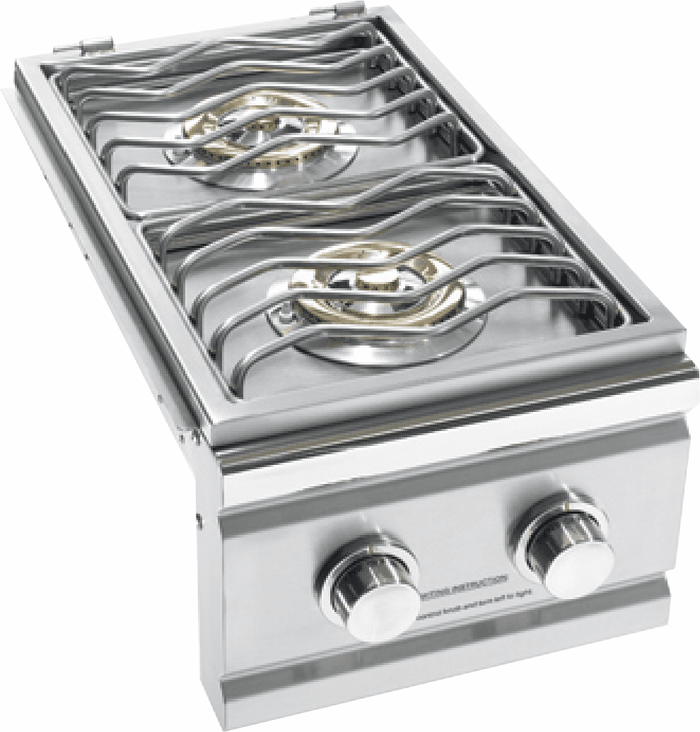 Summerset double side burner SSSB-2 Stainless Steel