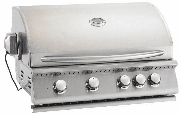 """Summerset Sizzler 32"""" Built in BBQ Grill head stainless steel"""