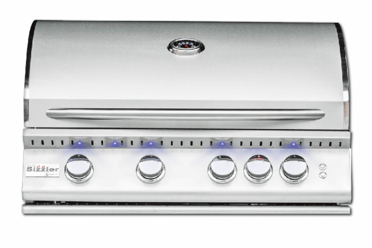 Summerset Sizzler Pro 32 Inch Grill 4-Burner with Lights