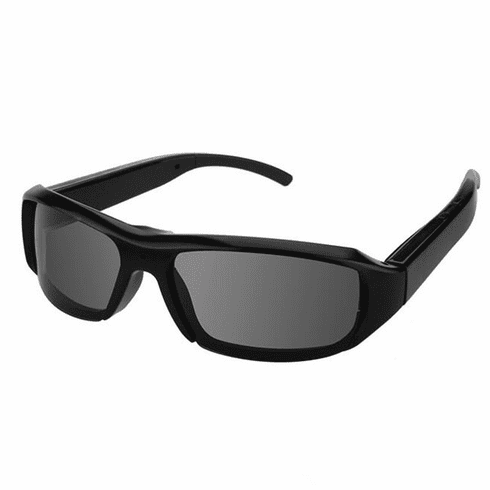 1080P HD RESOLUTION SUN GLASSES PINHOLE SPY CAMERA with 100mins Rechargeable Battery, Micro SD Card Slot