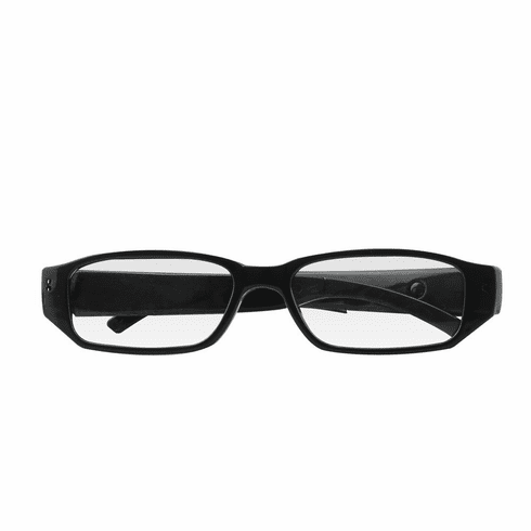 720P FULL HD RESOLUTION EYE GLASSES PINHOLE SPY CAMERA with 100mins Rechargeable Battery, Micro SD Card Slot