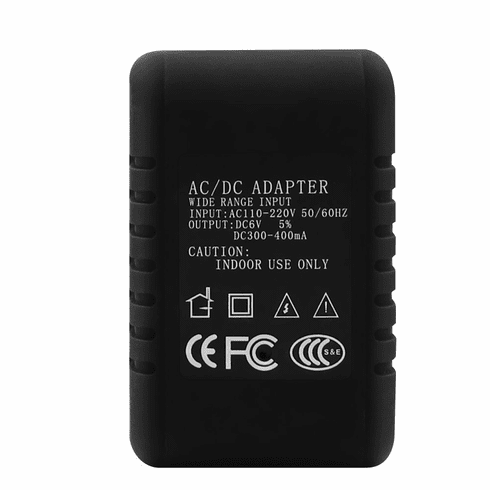 720p WiFi AC/DC Power Adapter HD Wireless Spy Camera Covert Hidden Wi-Fi Remote View Nanny Camera