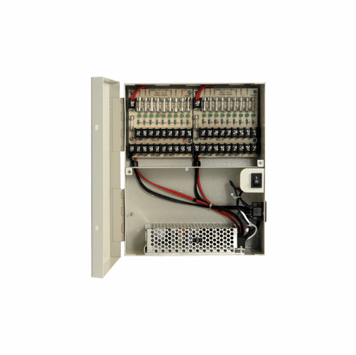 AT1210-D10  CCTV DC Wall Mount 18 Fused Output Power Supply