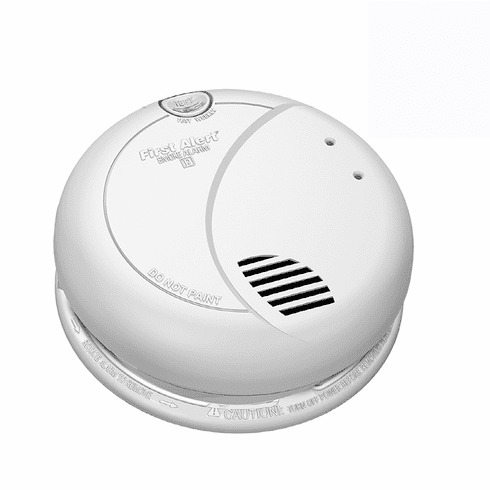 Battery Powered SecureGuard Smoke Detector Spy Camera<br>(30 to 90 Days Battery)