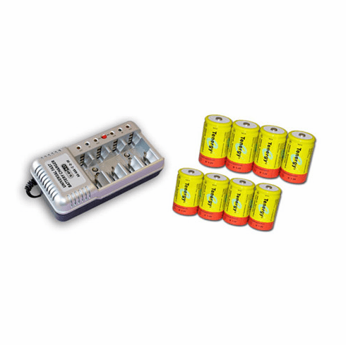 Hi Power Rechargerable Battery set  and charger For SWIP-PF