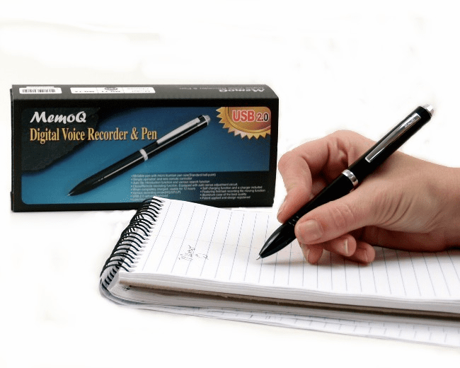 "In Stock Now! The ""PI Pen"" Personal Note Taker [PI/PEN]"