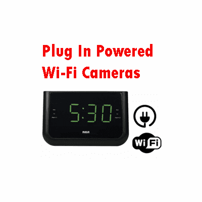 SecureGuard Plug In Powered Wi-Fi Cameras