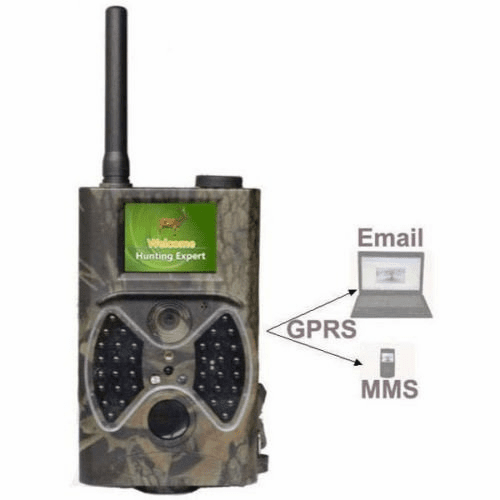 RD-300H  MMS/SMTP/SMS/E-mail Hunting Camera